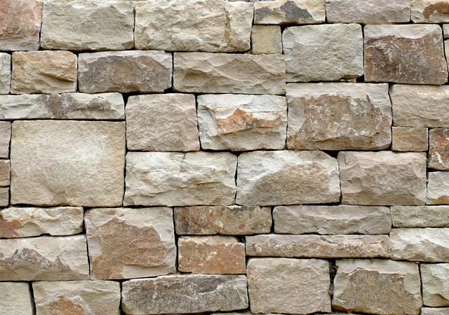 Eine gut gefügte Mauer überzeugt in jedem Detail