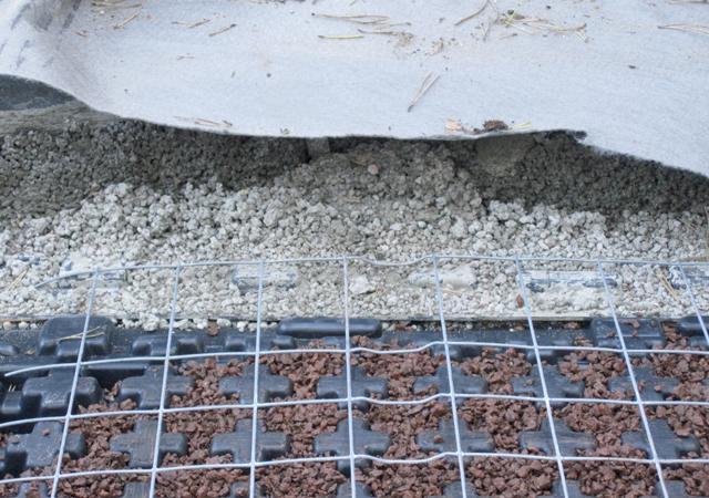 Bau eines Dachgartens: 2. Der fachgerechte Unterbau.