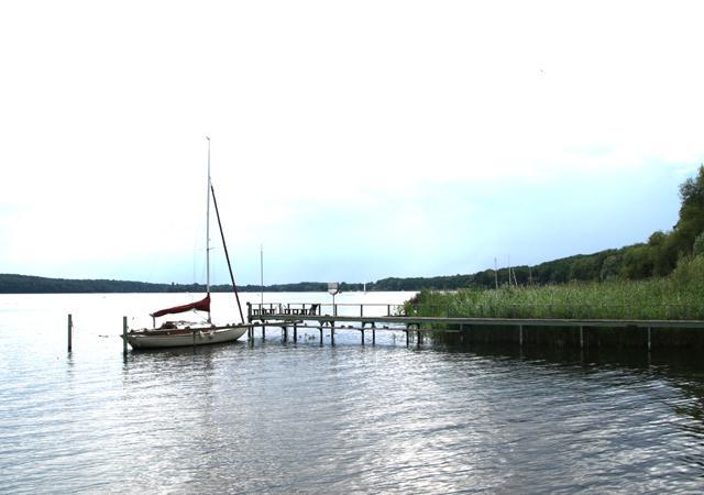 Holzsteg an der Havel.