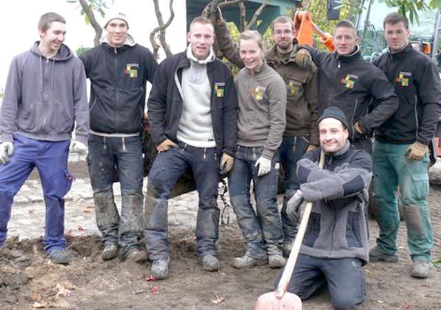 Das Team der Jörg Käding Garten- und Landschaftsbau GmbH.